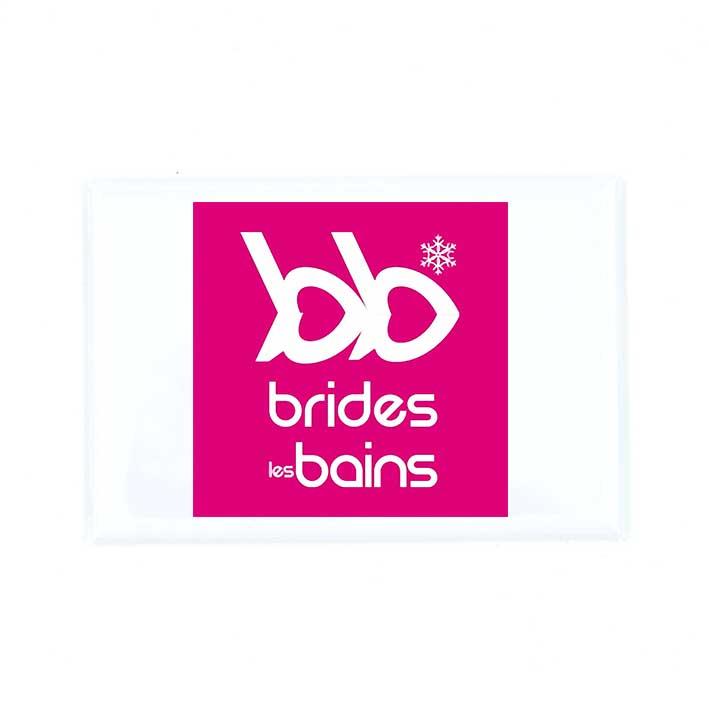 Magnet Logo BB Rose Brides-les-Bains - Souvenirs des Alpes
